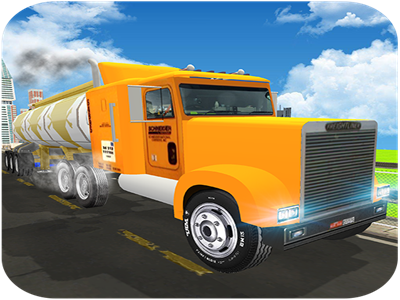 Fuel Transport Oil Tanker: City Cargo Truck Driver game android weapons thrilling battle cops atm hostages burglars centralbank robbers crime city robbery bank robot police us