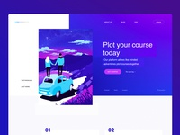 Reddin Designs Plot Your Course Interface Design