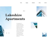Landing page concept.