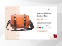 Daily UI#012 - E-commerce (Single Item)