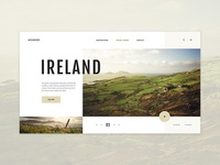 Travel Blog Concept - Journey Across Ireland