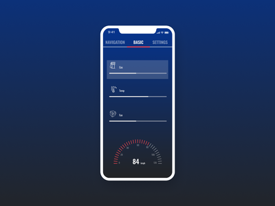 Daily UI 034 dailyuichallenge car interface dailyui034 dailyui design