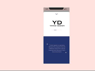 DailyUI 038 testimonials dailyui038 dailyui design