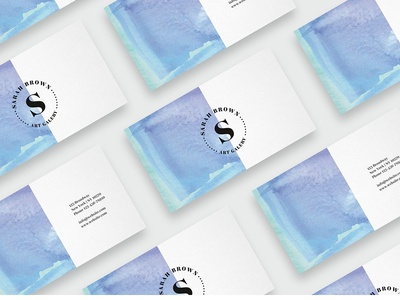 Watercolor business card template card template icon illustration water color template logo elegant cards design businesscards business