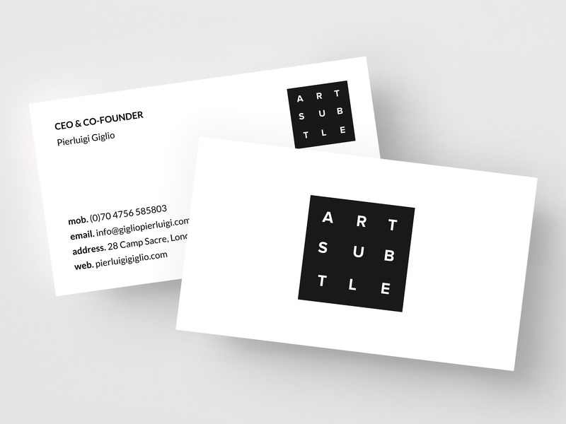 personal business card template by business cards dribbble dribbble