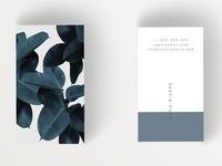 Floral Business card V2