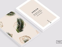 Palm + Geometry Business Card