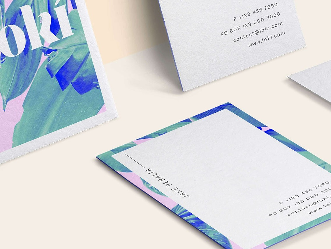 Po Card Templates | Loki Business Card Template By Business Cards Dribbble