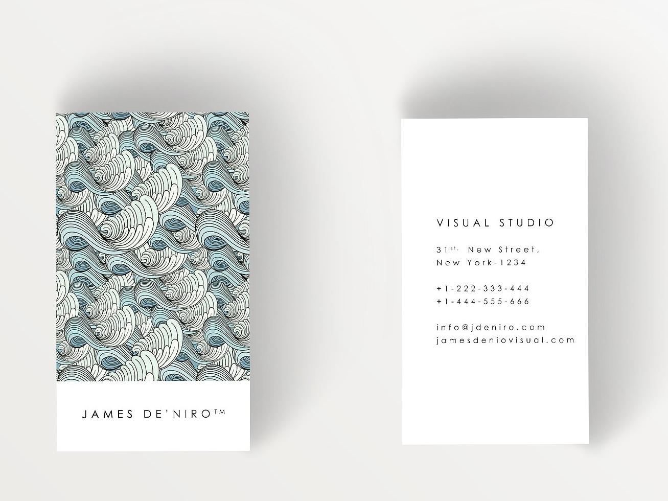 stylish business card v2