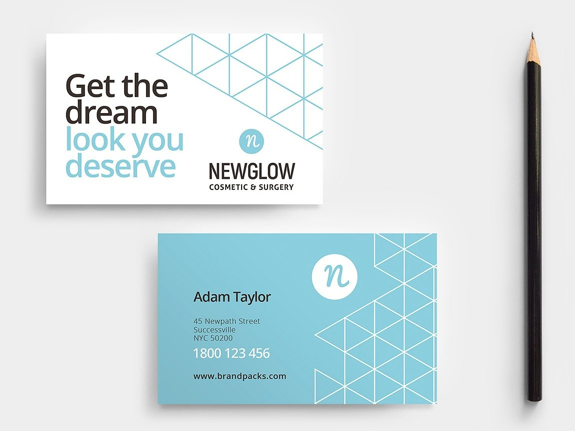 Cosmetic Business Card By Business Cards Dribbble Dribbble