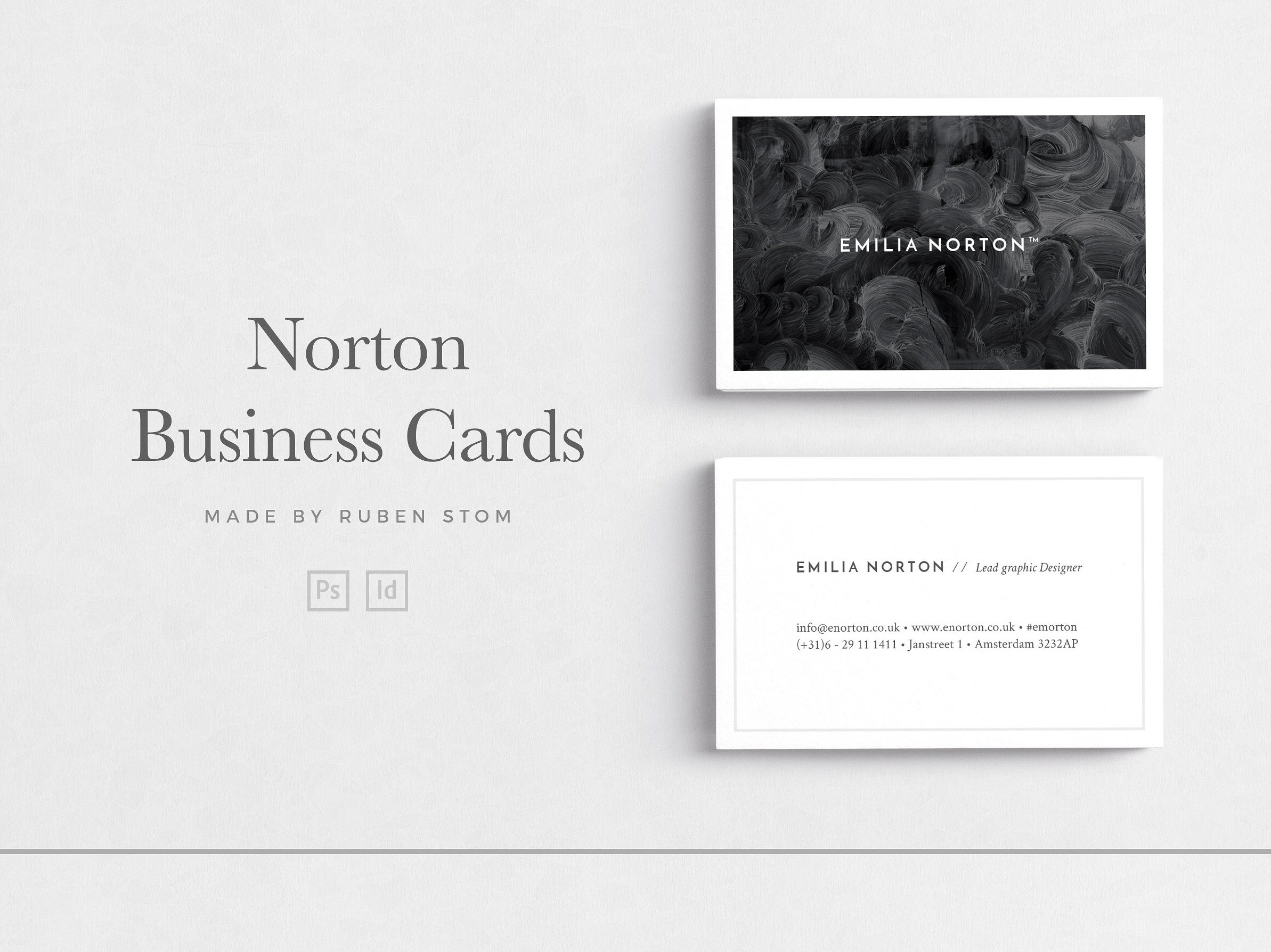 Business Card Template Indesign from cdn.dribbble.com