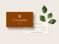 Business Card Template - La Fontaine