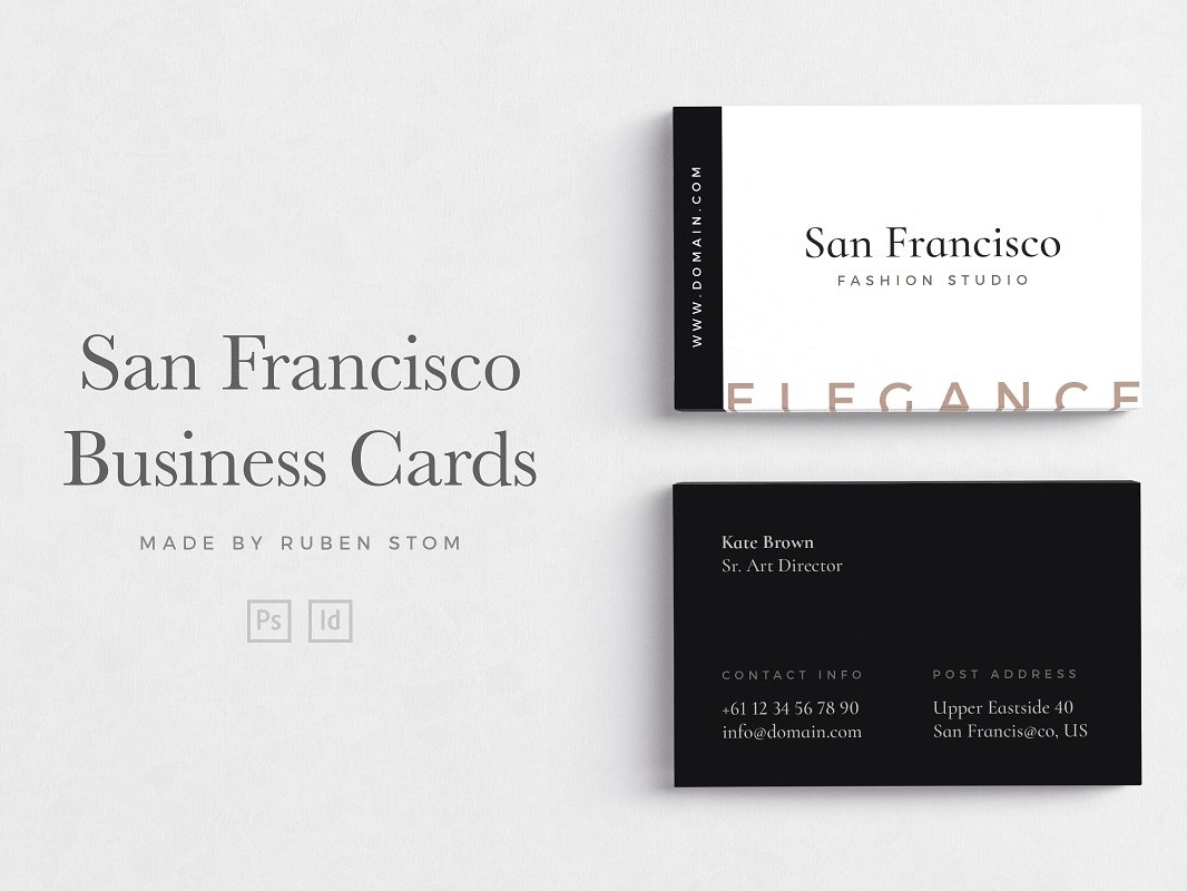 Templates Business Cards By Business Cards Dribbble Dribbble