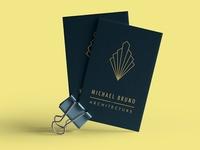 Art Deco Business Card