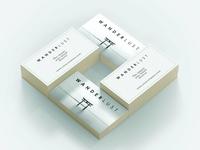WANDERLUST Business Card Template