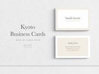Kyoto Business Cards