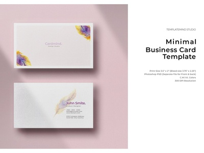 Feather Business Card - Vol.3