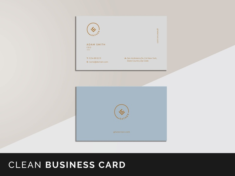 Gather Business Card Templates