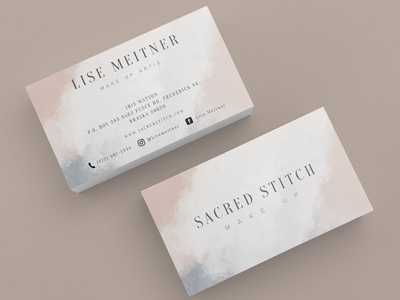 SCARED STITCH BUSINESS CARDS