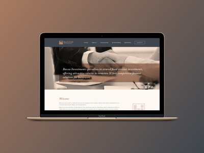 Baccus | Website WIP finance icon mark sketch ux ui type design web desgin graphic design logo design logo branding brand