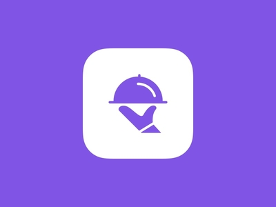 Lunch App | Icon Design dark mode sketch logo design branding graphic design ui ux lunch icon design icon ios app app design