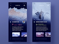 3D Mountain Explorer App
