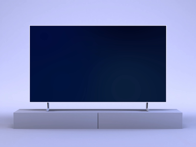 Interactive TV App dark design tv app show movie ux ui animation smart tv samsung after effects app