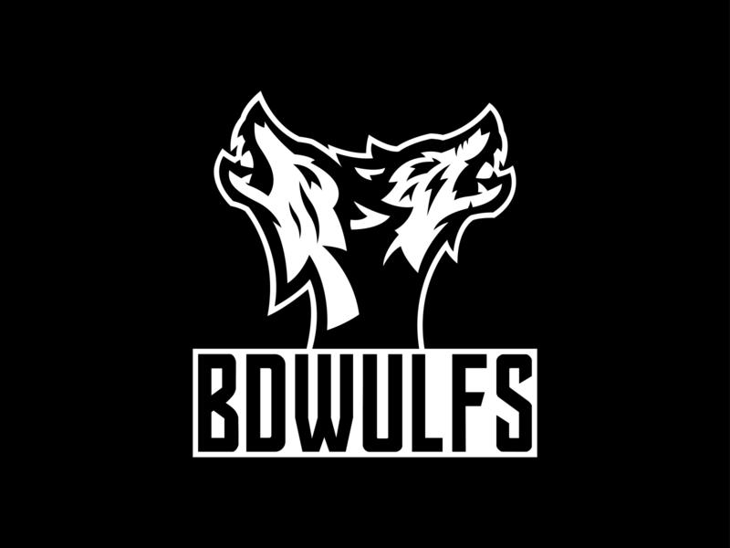 BDWULFS esports logo angry esports sports logo illustration identity mascot design sports branding logo design esport esport logo esport mascot team logo wolves wolf mascot wolf logo wolf mascot logo mascot logo