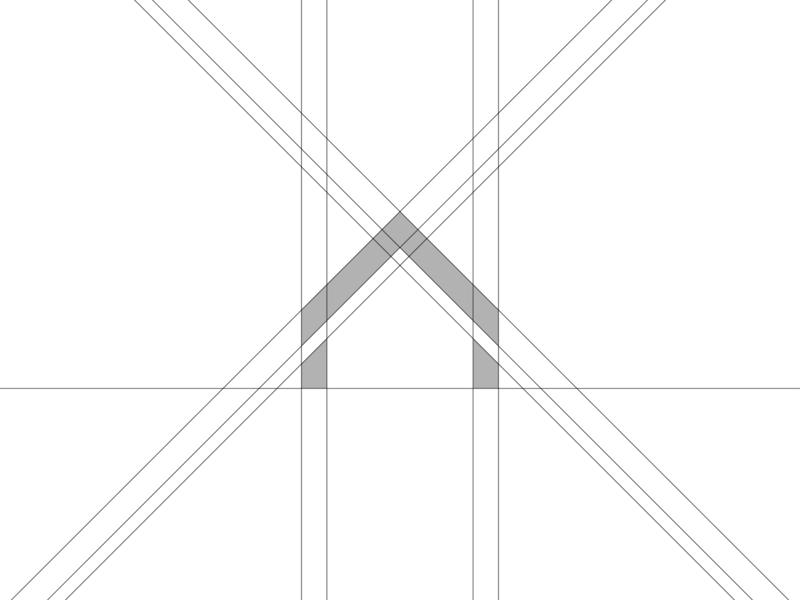 ЮВЕ-ДАХ brand logo company minimalist logo minimal logo designer mark logo mark logotype designer logotype design logotype grids grid system logo grids logo grid grid design grid home logo hume house logo house
