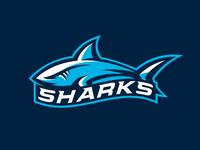 Shark Mascot Logo