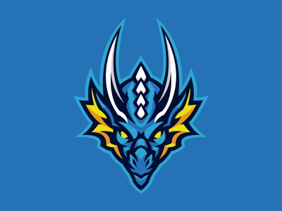 DRAGON logo esport gaming badge mascot logo character brand angry vector sports sport mascot logotype logo illustration idenity icon esports esport dragon branding
