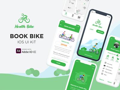 Health Bike IOS UI Kit