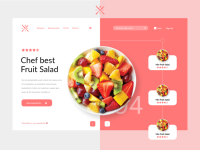 Fruit App Ui Design
