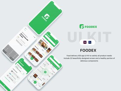 Food Delivery IOS App Ui concept