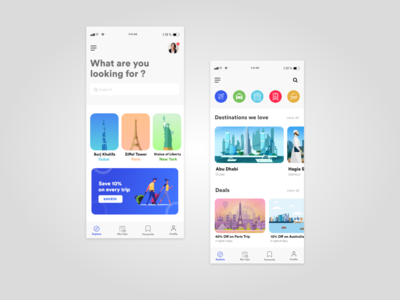Travel App Ui Design