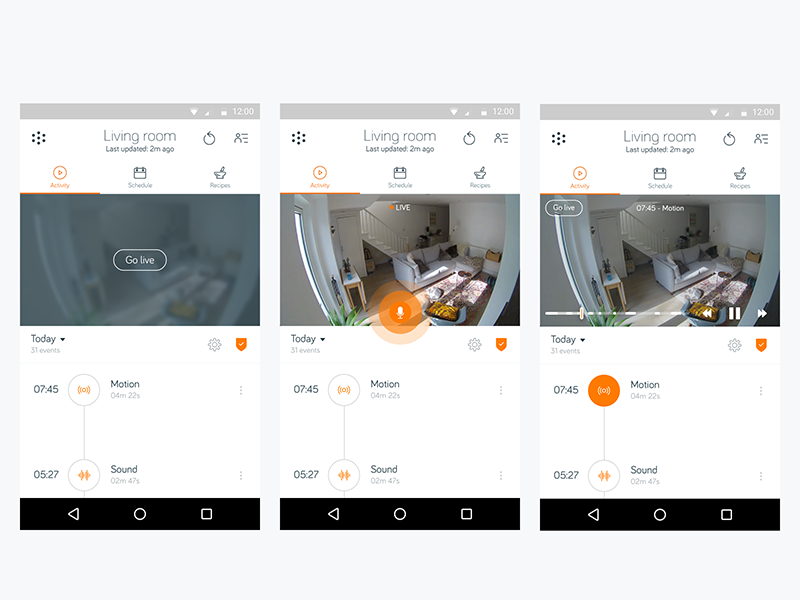 Hive View – Android by Cameron Macbeth | Dribbble | Dribbble