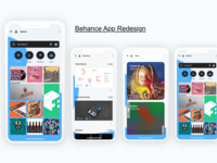 Behance App Redesign