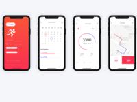 iFitness Tracker App