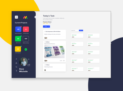 Monday Dashboard Redesign