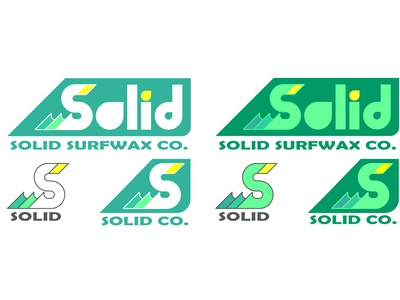 Solid Surfwax Co. logos