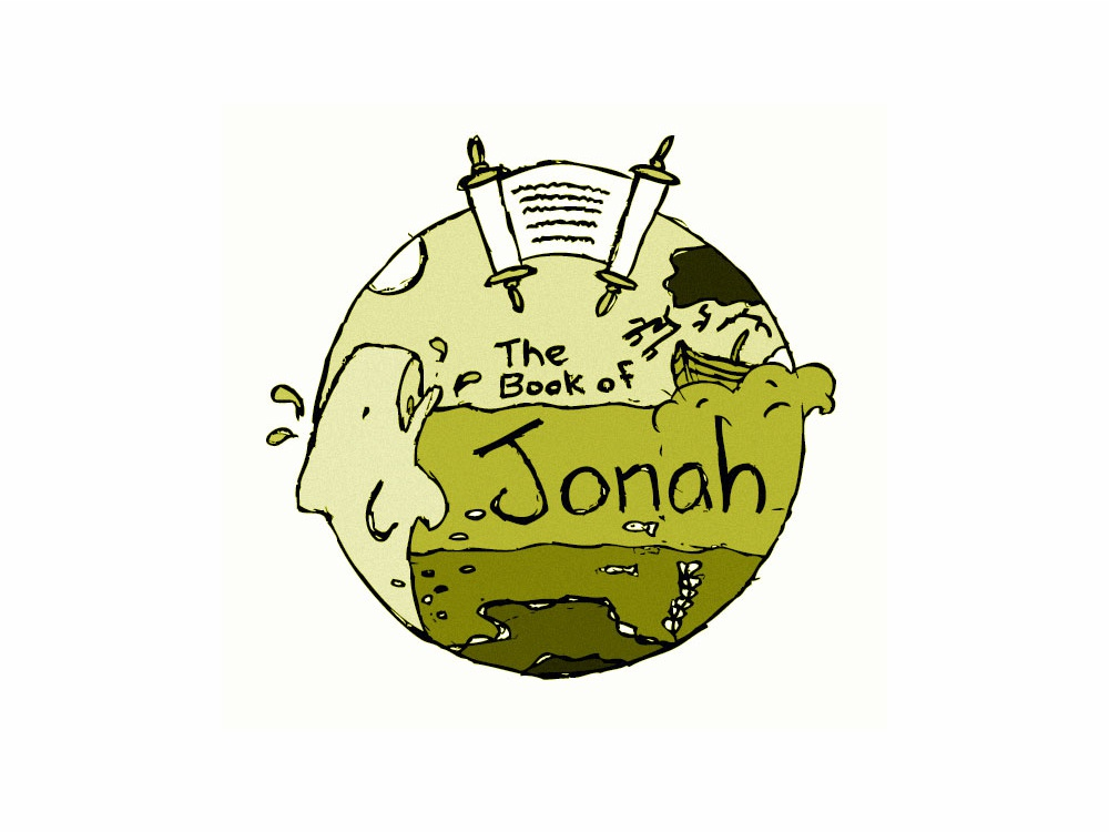 Book of Jonah Illustration drawing logo icon theology bible illustration