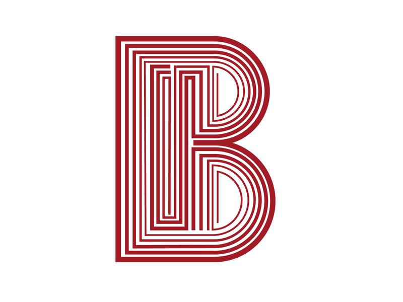 Letter B #2 vector graphicdesign lettering