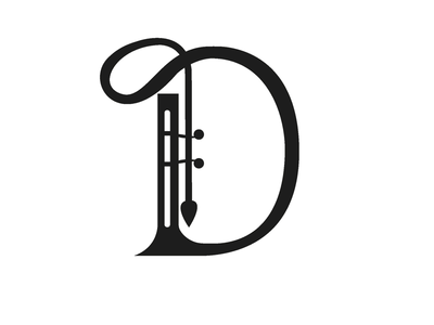Letter D letters  typography