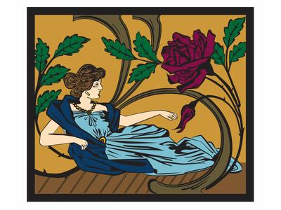 Art Nouveau Woman