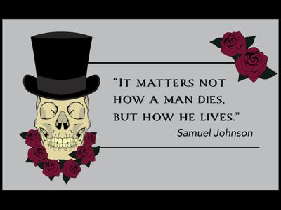 Skull Quote