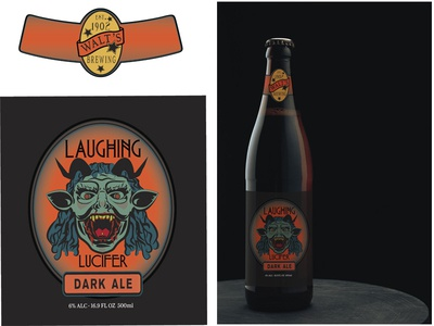 Laughing Lucifer Beer Labels
