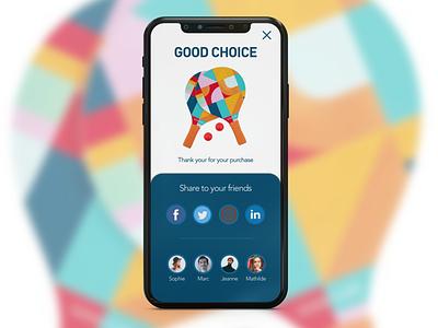 Day 10 -  Social Share socialshare day10 dailyui