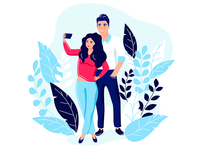 Selfie couples