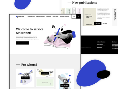 Writing Service Concept