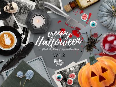 Halloween Scene Creator Vol.2